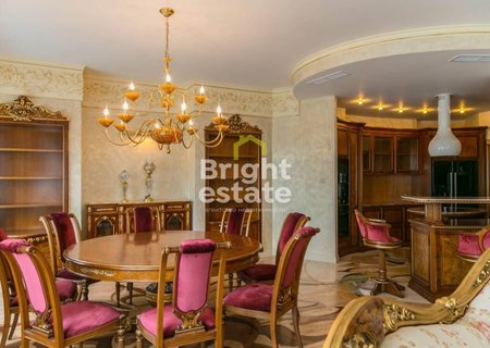 Купить квартиру с эксклюзивным дизайном в ЖК Дом на Смоленской набережной. ID 10521