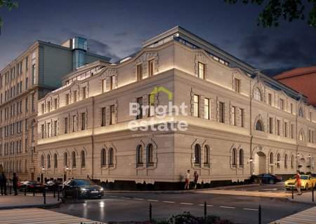 Купить апартаменты 70,7 кв.м. в клубном доме Кузнецкий мост 12. ID 10590