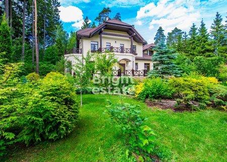 Аренда дома 550 кв.м. в поселке Грибово на Минском шоссе. ID 10714