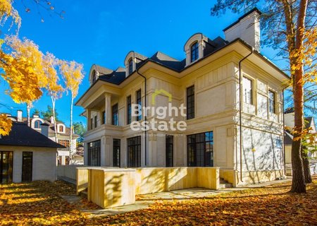 Купить дом 1200 кв.м. в коттеджном поселке Жуковка на Рублевке. ID 9598