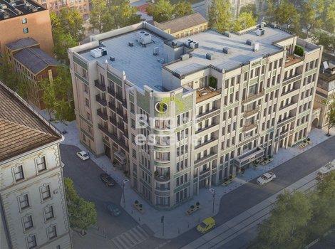 Купить апартаменты без отделки в жилом комплексе Резиденция на Покровском бульваре. ID 10364