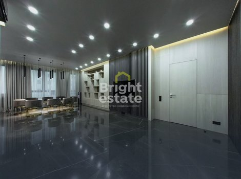 Купить квартиру с дизайнерской отделкой в ЖК Barrin House в Хамовниках. ID 10367