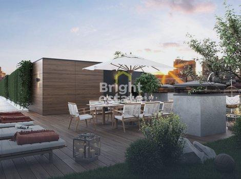 Купить квартиру с террасой на Арбате, клубный дом Artisan. ID 10554