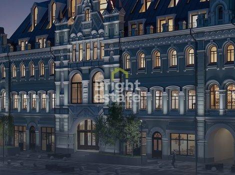Купить апартаменты с отделкой white box в клубном доме Кузнецкий мост 12. ID 10592
