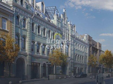Купить 2-уровневые апартаменты в клубном доме Кузнецкий мост 12. ID 10601