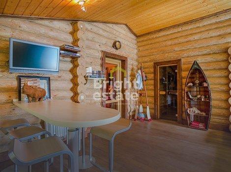 Купить загородный коттедж-шале в КП Зеленая Роща. ID 10820