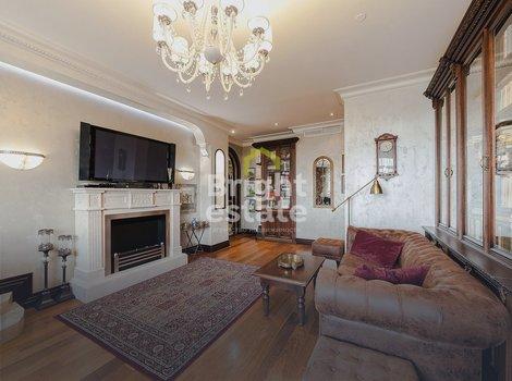 Купить квартиру с классическим дизайном в ЖК Алые Паруса. ID 10866