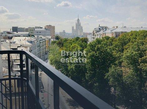 Купить квартиру 107 кв.м. в ЖК Резиденция на Покровском бульваре. ID 10881