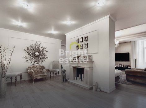 Купить квартиру с классическим интерьером в ЖК Триумф Палас. ID 11015