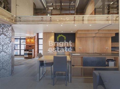 Купить 2-уровневые апартаменты с лофт-дизайном в ЖК Wine House. ID 11052