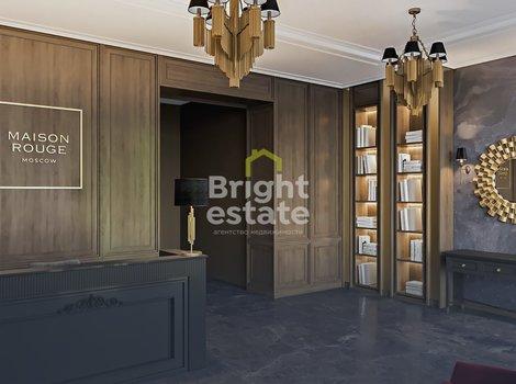 Купить трехкомнатные апартаменты 100 кв.м. без отделки в ЖК Мезон Руж. ID 11072