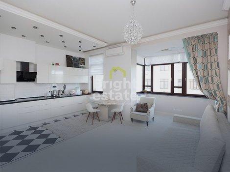 Купить двухкомнатную квартиру 75 кв.м. под ключ в поселке Павлово-2. ID 11074