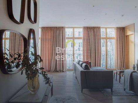 Продажа апартаментов 142 кв.м. с ремонтом в жилом комплексе Эдисон Хаус. ID 11138