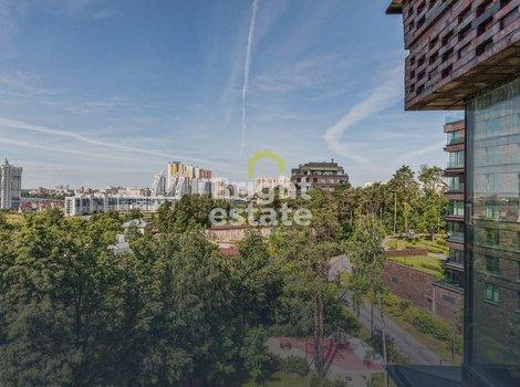 Купить трехкомнатную квартиру с видом на воду в Парке Рублево . ID 11257