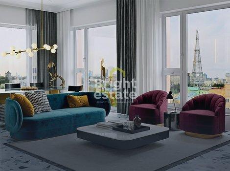 Купить однокомнатную квартиру в ЖК Композиция 24 на Хавской улице. ID 11476