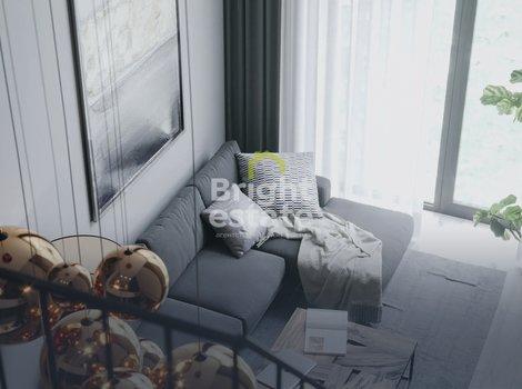 Двухкомнатная квартира с отделкой white box в ЖК Level Стрешнево. ID 11521