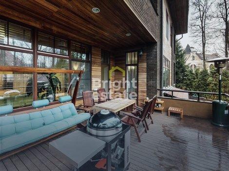 Купить загородный дом в коттеджном поселке Лесной простор-3. ID 11572