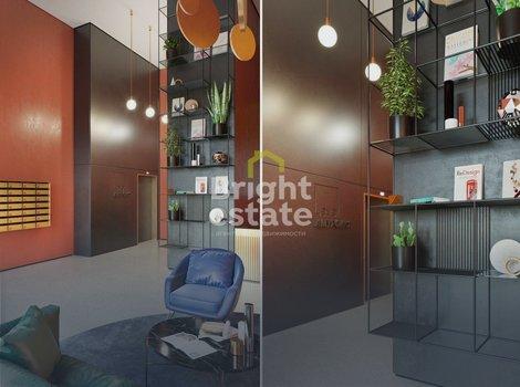 Продажа трехкомнатной квартиры 56,6 кв.м. в ЖК Level Амурская. ID 11684
