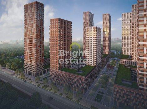 Купить квартиру 42,6 кв.м. в жилом комплексе Level Амурская. ID 11686