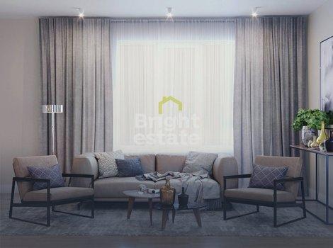 Купить 3-комнатную квартиру под ключ в ЖК Level Амурская. ID 11689