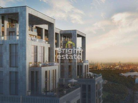 Купить 4-комнатные апартаменты в апарт-комплексе Поклонная 9. ID 11703