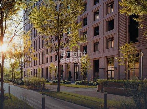Купить квартиру без внутренней отделки в ЖК Серебряный Фонтан. ID 11816
