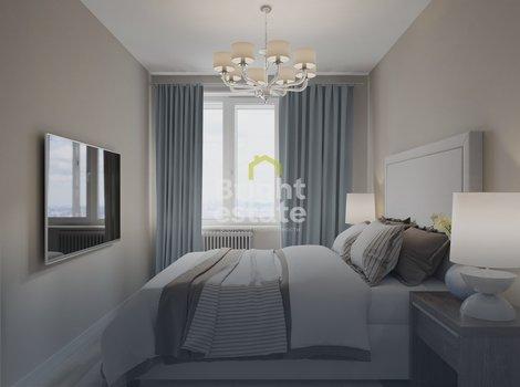 ЖК Прайм Тайм — Трехкомнатная квартира без отделки. ID 11910