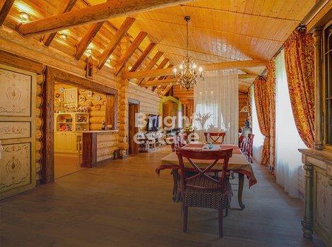 Снять в аренду деревянный дом в КП Зеленая Роща. ID 11917