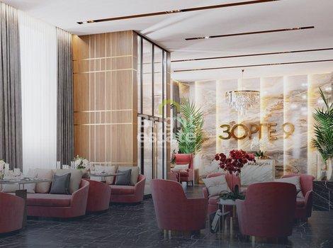 Продажа апартаментов 63,4 кв.м. в жилом комплексе Зорге 9. ID 11968