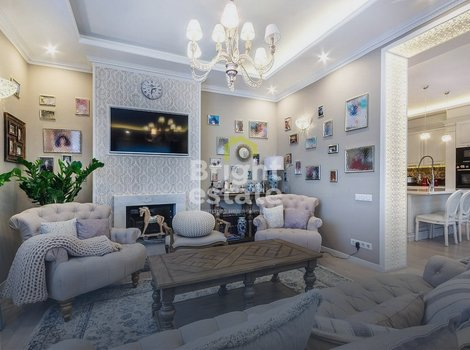 Дом 300 кв.м. в поселке Знаменское на Рублево-Успенском шоссе. ID 11972