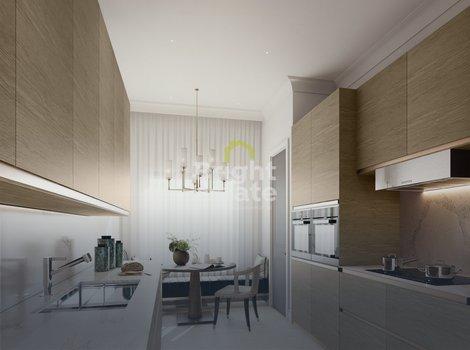 Готовые апартаменты под ключ в клубном доме Пироговская 14. ID 12023
