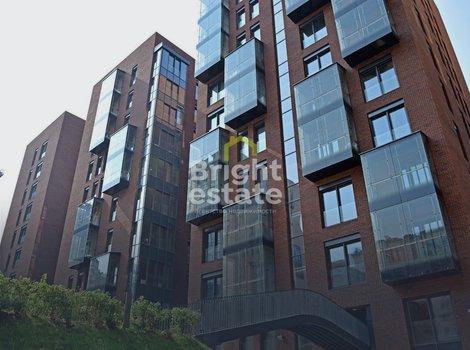 Трехкомнатная квартира без внутренней отделки в городском комплексе Садовые Кварталы. ID 12049