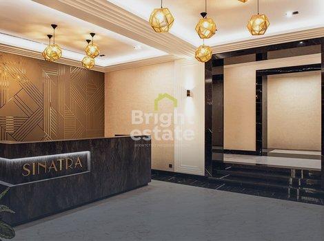 Купить апартаменты 58,6 кв.м. в клубном доме Sinatra. ID 12165