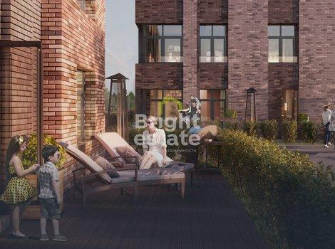 Четырехкомнатная квартира 99 кв.м. в жилом комплексе Big Time. ID 12176