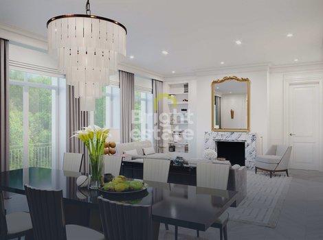 Купить 3-комнатную квартиру в клубном доме Малая Бронная 15. ID 12389