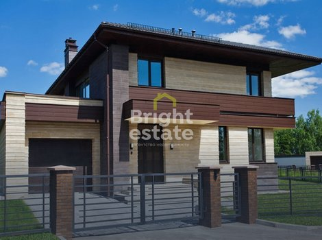 Продажа дома 344 кв.м. в. загородном поселке Крекшино. ID 12536