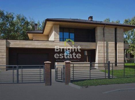 Купить кирпично-монолитный коттедж в КП Крекшино. ID 12546