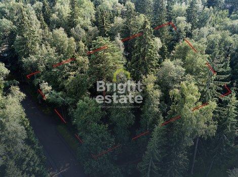 Лесной участок в клубном поселке Шервуд на Новорижском шоссе. ID 12673