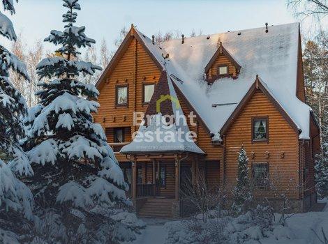 Купить русскую усадьбу в коттеджном поселке Брёхово на Пятницком шоссе. ID 12958