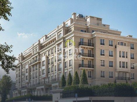 Купить 3-комнатную квартиру без отделки в жилом комплексе Knightsbridge. ID 13143