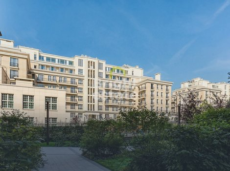 Продажа городской квартиры без отделки в ЖК Knightsbridge Private Park, Хамовники. ID 13159