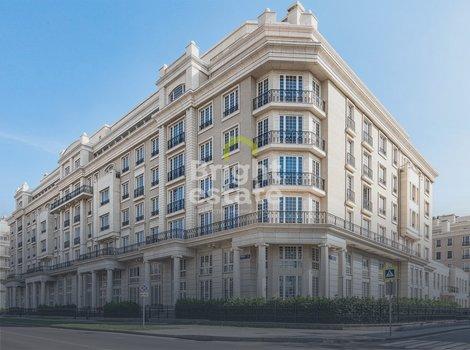 Продажа квартиры без отделки в Хамовниках, ЖК Knightsbridge Private Park. ID 13165