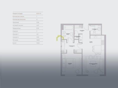 Купить готовые к проживанию апартаменты в Хамовниках, Пироговская 14. ID 13180