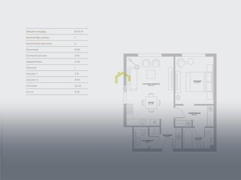 Продаются апартаменты в ЦАО, клубный дом Пироговская 14. ID 13182