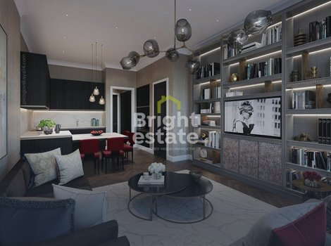 Четырехкомнатные апартаменты под ключ в клубном доме Пироговская 14. ID 13186