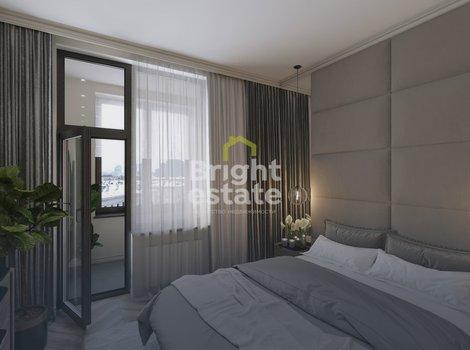 Квартира с готовым дизайном в жилом комплексе Врубеля 4. ID 13205