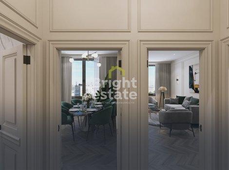 Купить 1-комнатную квартиру с готовой отделкой в ЖК Врубеля 4. ID 13206