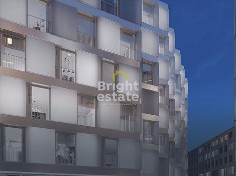Купить видовые апартаменты с отделкой в Lumin House. ID 13294