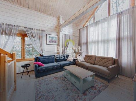 Купить готовый деревянный коттедж в поселке Лесной простор-3. ID 13352
