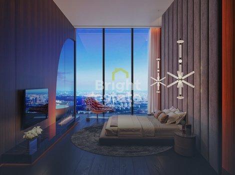 Купить 6-комнатные апартаменты без отделки в Башне Федерация Восток. ID 3119